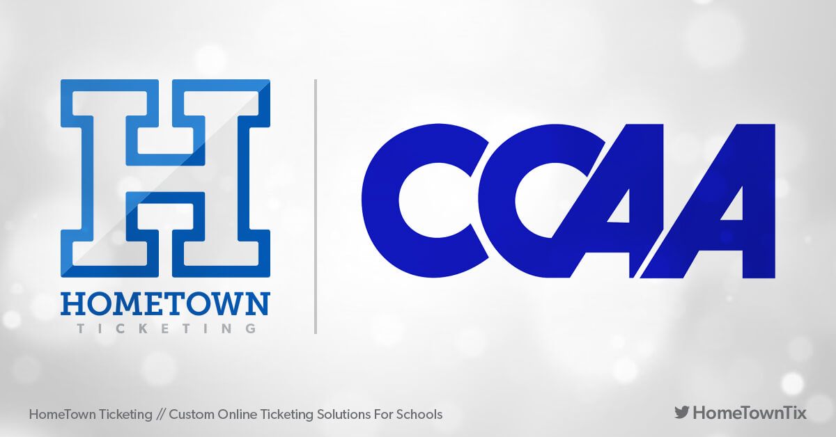 Hometown Ticketing and CCAA California Collegiate Athletic Association