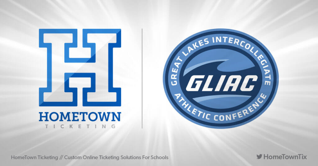 Hometown Ticketing and GLIAC Great Lakes Intercollegiate Athletic Conference