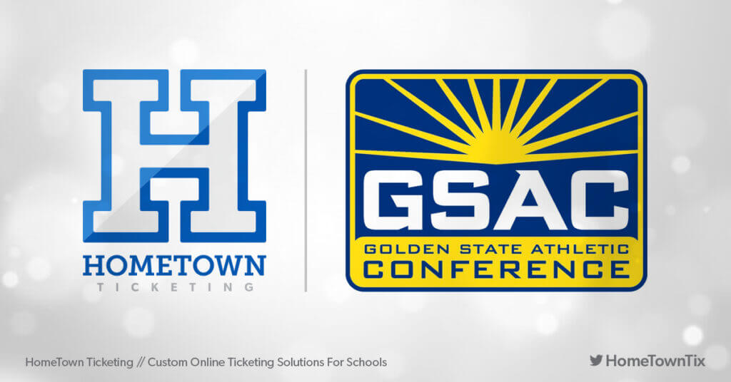 Hometown Ticketing and GSAC Golden State Athletic Conference