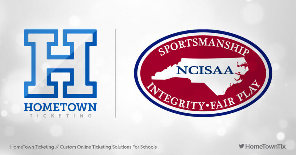 Hometown Ticketing and NCISAA North Carolina Independent Schools Atheltic Association