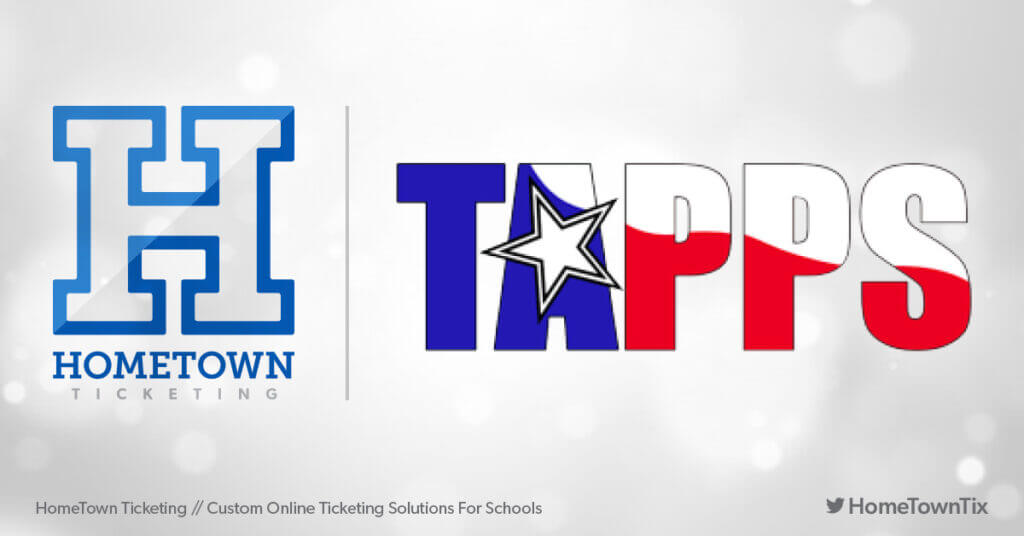 Hometown Ticketing and TAPPS Texas Association of Private and Parochial Schools