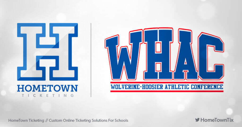 Hometown Ticketing and WHAC Wolverine-Hoosier Athletic Conference