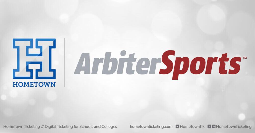 Hometown Ticketing and Arbiter Sports