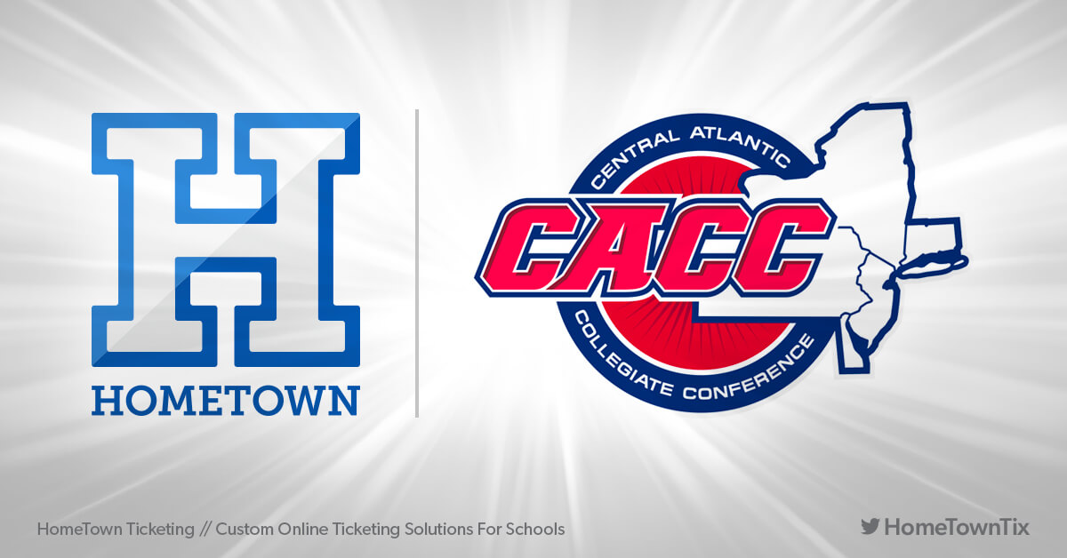 Hometown Ticketing and CACC Central Atlantic Collegiate Conference