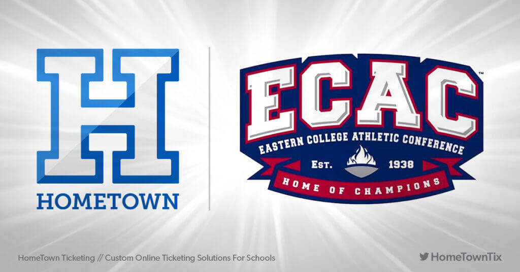 Hometown Ticketing and ECAC Eastern College Athletic Conference