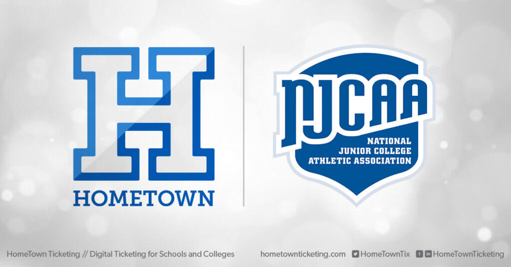 Hometown Ticketing and NJCAA National Junior College Athletic Association