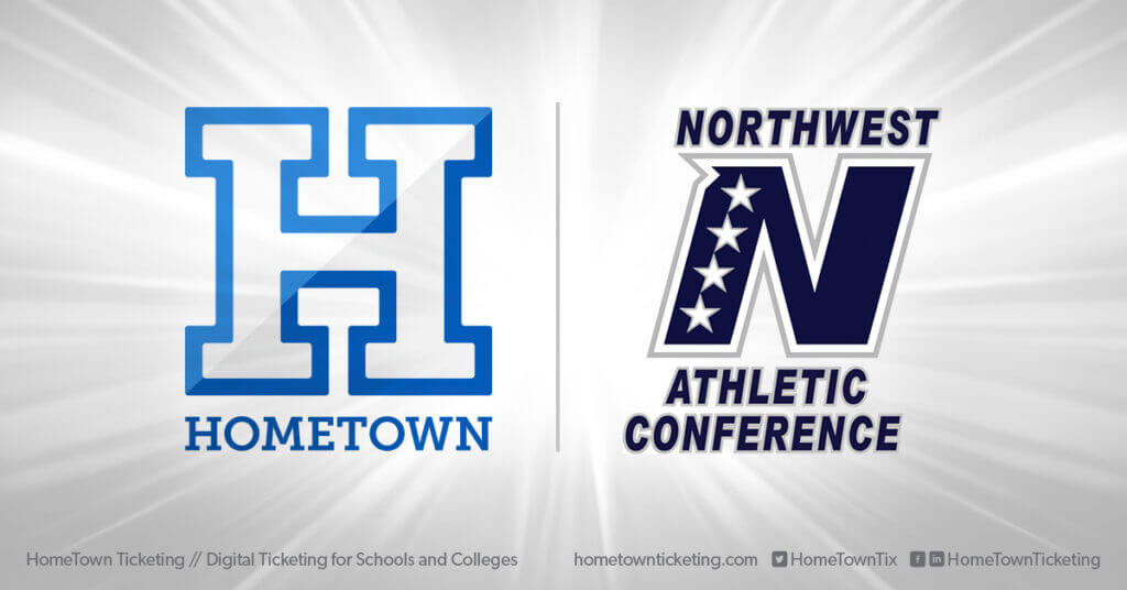 Hometown Ticketing and Northwest Athletic Conference