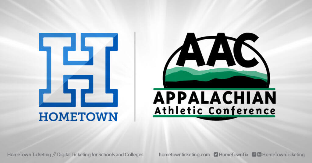 Hometown Ticketing and AAC Appalachian Athletic Conference