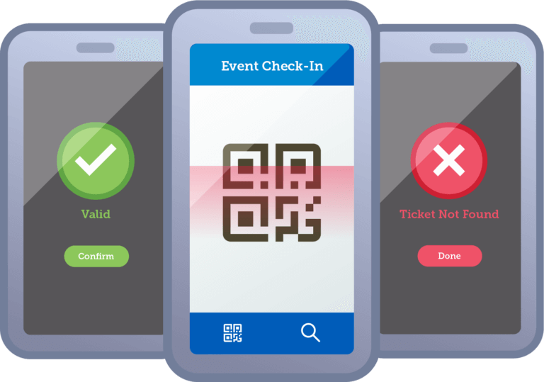 Online Ticket Scanning for High Schools and Universities