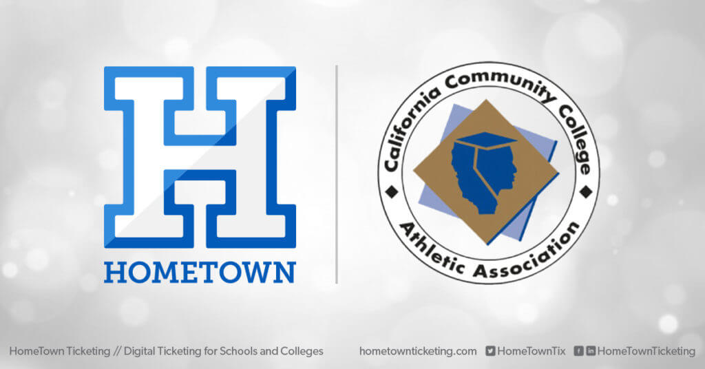 Hometown Ticketing and California Communicy College Athletic Association