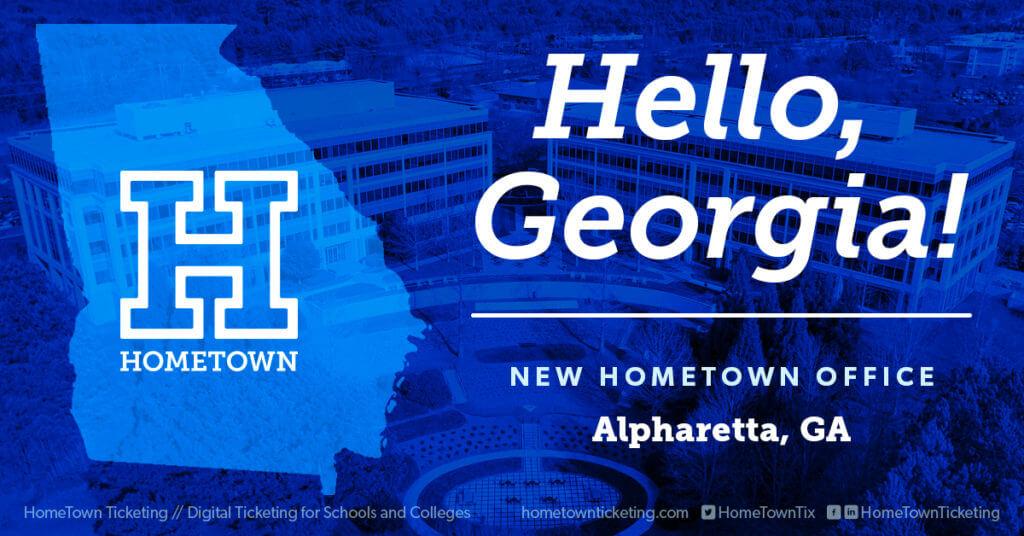 Hello, Georgia. New Hometown Ticketing Office in Alpharetta, GA