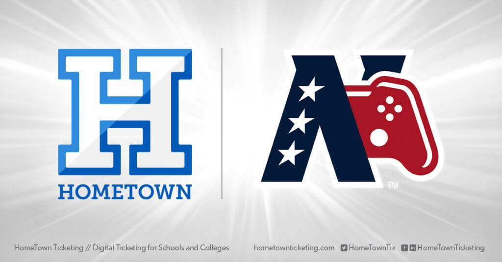 Hometown Ticketing and NECC New England Collegiate Conference Esports
